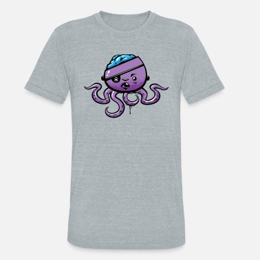 Altona Octopus - Unisex Tri-Blend T-Shirt