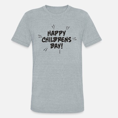Childrens Day Comic Style Childrens Day - Unisex Tri-Blend T-Shirt