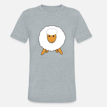 Agribusiness sheep twit farming agribusiness - Unisex Tri-Blend T-Shirt