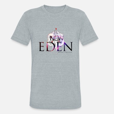 New Kingdom New Eden The Light Kingdom Emblem - Unisex Tri-Blend T-Shirt