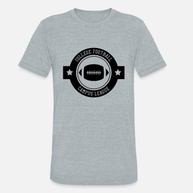 College Football Football college - Unisex Tri-Blend T-Shirt