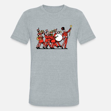 Big Band Marching Band - Unisex Tri-Blend T-Shirt