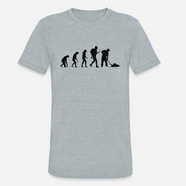 Tupperware Geocaching - Evolution Geocaching - Unisex Tri-Blend T-Shirt