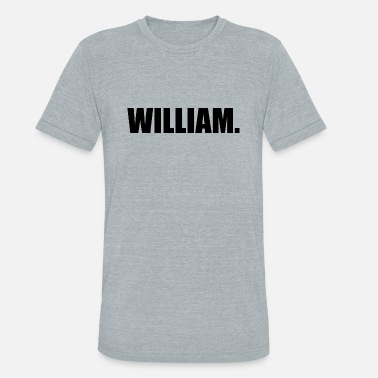 Williams WILLIAM. - Unisex Tri-Blend T-Shirt