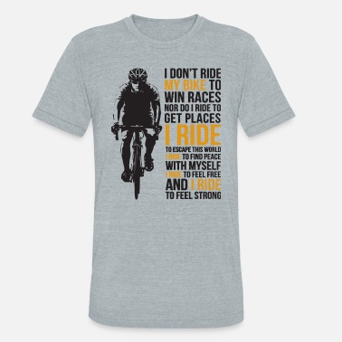 Grandpas Ride Dirt Bike i don t ride my bike to win races nor do i. Unisex  Tri-Blend T-Shirt 15b26388a