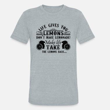 161a0e735 Lemon Halloween Life Gives You Lemons Shirt - Unisex Tri-Blend T-Shirt