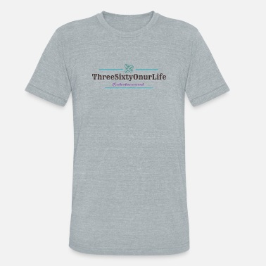 Entertainer Threesixtyonurlife Entertainment - Unisex Tri-Blend T-Shirt