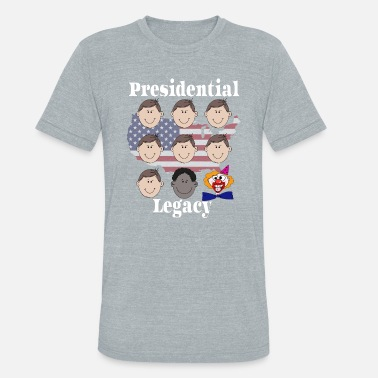 Trump Clown US presidents clown copy - Unisex Tri-Blend T-Shirt