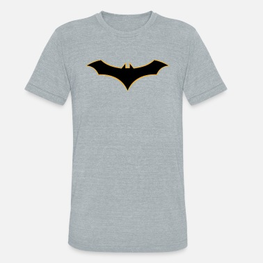 Batman Logo Batman Rebirth Logo - Unisex Tri-Blend T-Shirt
