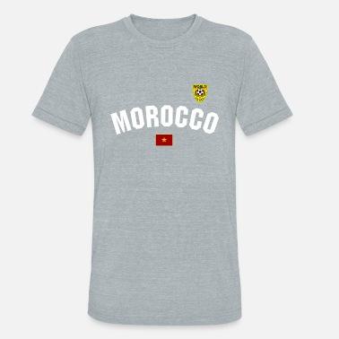 f8b40002aa1 Moroccan Football Moroccan Football - Unisex Tri-Blend T-Shirt