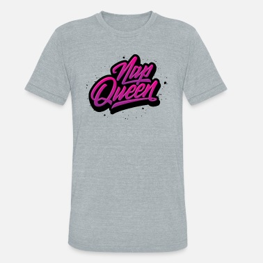 Sleepyhead Nap Queen - Unisex Tri-Blend T-Shirt