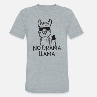 2e7bc2dcd No Drama Llama NO DRAMA LLAMA - Unisex Tri-Blend T-Shirt