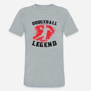 Dodgeball Legend Dodgeball Legend - Unisex Tri-Blend T-Shirt