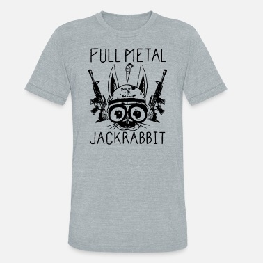 Alchemist Jokes Full Metal Jackrabbit - Unisex Tri-Blend T-Shirt