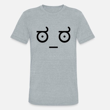 Disapproval Look of Disapproval - Unisex Tri-Blend T-Shirt
