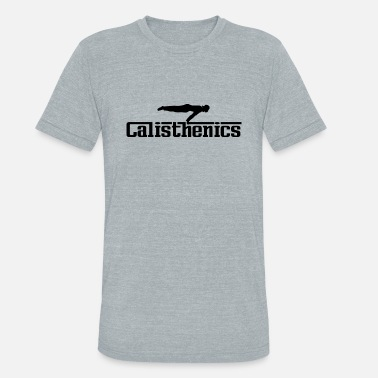 Cool Calisthenics Calisthenics Black - Unisex Tri-Blend T-Shirt