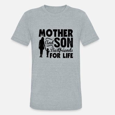 Mother Son Mother And Son Bestfriends For Life Shirt - Unisex Tri-Blend T-Shirt