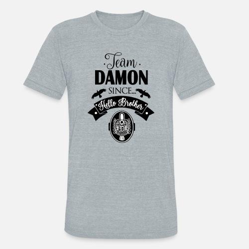 9d493c095de6 Team Damon Since Hello Brother Unisex Tri-Blend T-Shirt
