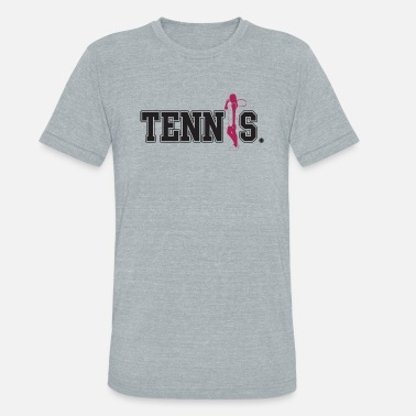 Tennis Game Tennis - Tennis - Unisex Tri-Blend T-Shirt