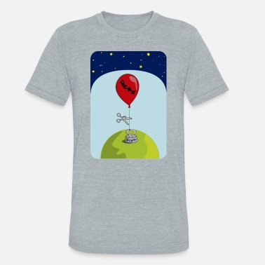 dreams balloon and society 2018 - Unisex Tri-Blend T-Shirt