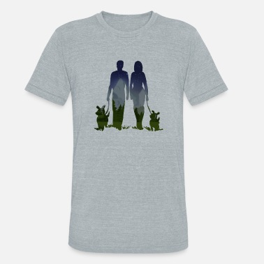 Afternoon Afternoon Walk - Unisex Tri-Blend T-Shirt