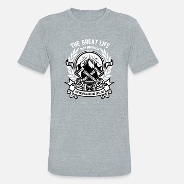 Ax Jokes Axe - Unisex Tri-Blend T-Shirt