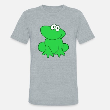 Frogs Halloween frog - Unisex Tri-Blend T-Shirt