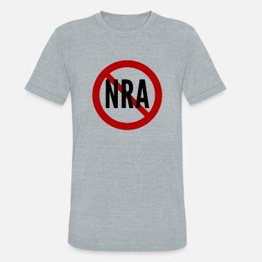 8ef8faf7 Rifle Association Anti-NRA National Rifle Association - Unisex Tri-Blend T- Shirt
