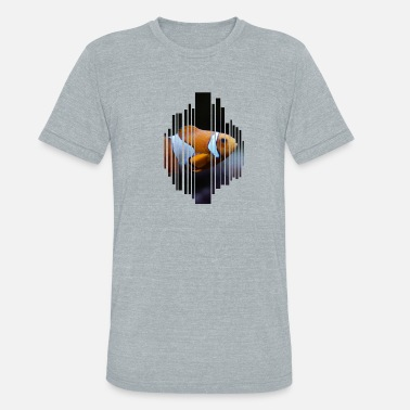 Clown Fish Clown fish - Unisex Tri-Blend T-Shirt