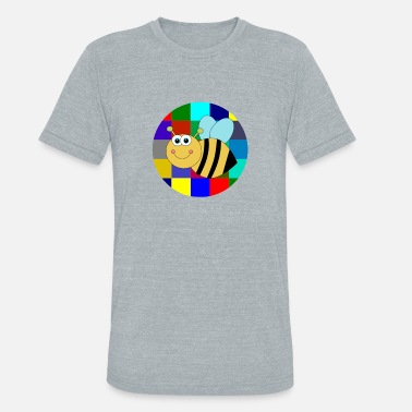Adult Sweets Sweet Bee - Unisex Tri-Blend T-Shirt