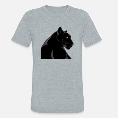 Panther Eye Black Panther - Unisex Tri-Blend T-Shirt