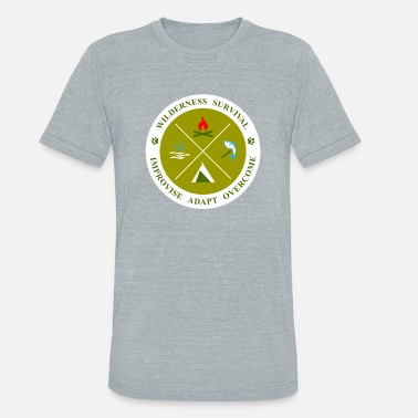 Wilderness BadgeWork SVL - Unisex Tri-Blend T-Shirt