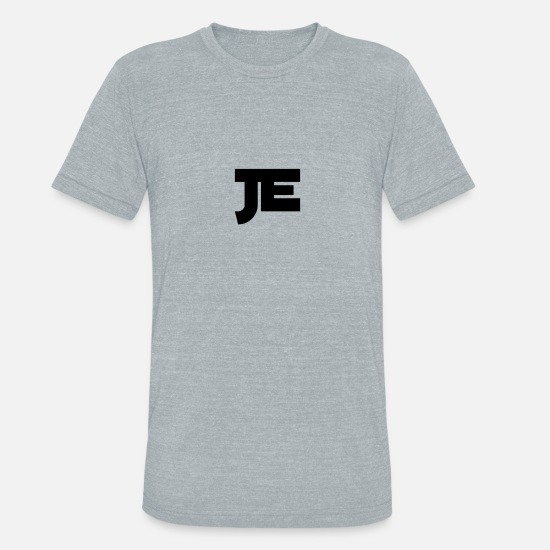 Phone T-Shirts - JE phone case - Unisex Tri-Blend T-Shirt heather gray