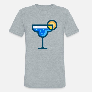 Cocktail Bar martini Cocktail bartender barkeeper bar - Unisex Tri-Blend T-Shirt