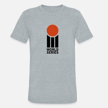 Cricket World Series World Series Cricket Retro - Unisex Tri-Blend T-Shirt