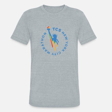 City NEW YORK CITY MARATHON - Unisex Tri-Blend T-Shirt