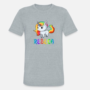 Rebeca Rebeca Unicorn - Unisex Tri-Blend T-Shirt