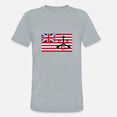 East Point East Asbury Trading Co Flag - Unisex Tri-Blend T-Shirt