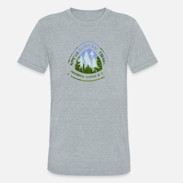 412b3632aee Hikers Trail Appalachian National Scenic Trail AT Hiker - Unisex Tri-Blend T -Shirt
