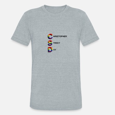 Christopher Street Day CSD Christopher Street Day - Unisex Tri-Blend T-Shirt