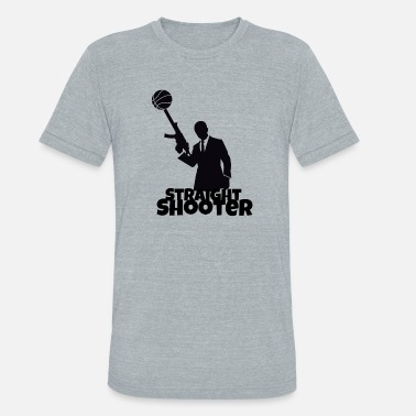 Straight Shooter Straight Shooter Basketball - Unisex Tri-Blend T-Shirt