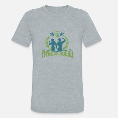 Breast Pump Partner dumbbell sexy mom fitness bosom - Unisex Tri-Blend T-Shirt