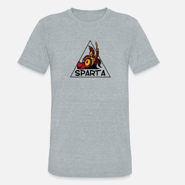 Defense Of The Ancients Sparta - Unisex Tri-Blend T-Shirt