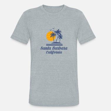 0ceae4963f Santa Barbara Santa Barbara California Shirt Tourist Souvenir CA - Unisex  Tri-Blend T-