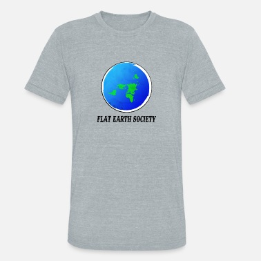 Showtek Flat Earth Society - Unisex Tri-Blend T-Shirt