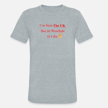 Side Westside UK WESTSIDE - Unisex Tri-Blend T-Shirt