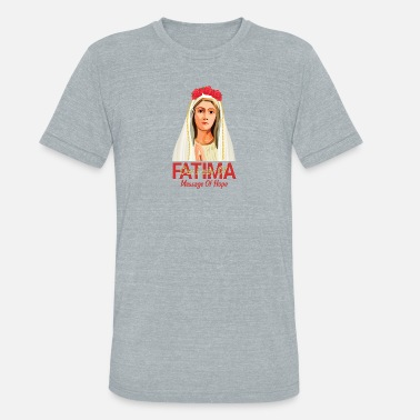Our Lady Church Our Lady Of Fatima - Unisex Tri-Blend T-Shirt