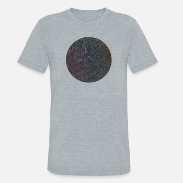 City Of Light City Lights - Unisex Tri-Blend T-Shirt