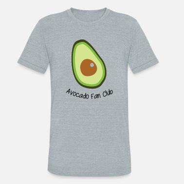 Fan Club Avocado Fan Club - Unisex Tri-Blend T-Shirt