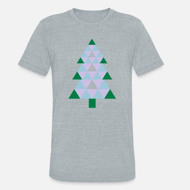 Iconic Christmas Holidays A Christmas Tree - Unisex Tri-Blend T-Shirt